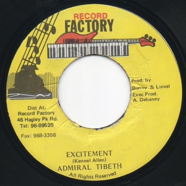 Admiral Tibbett EXCITEMENT (Vinyl)