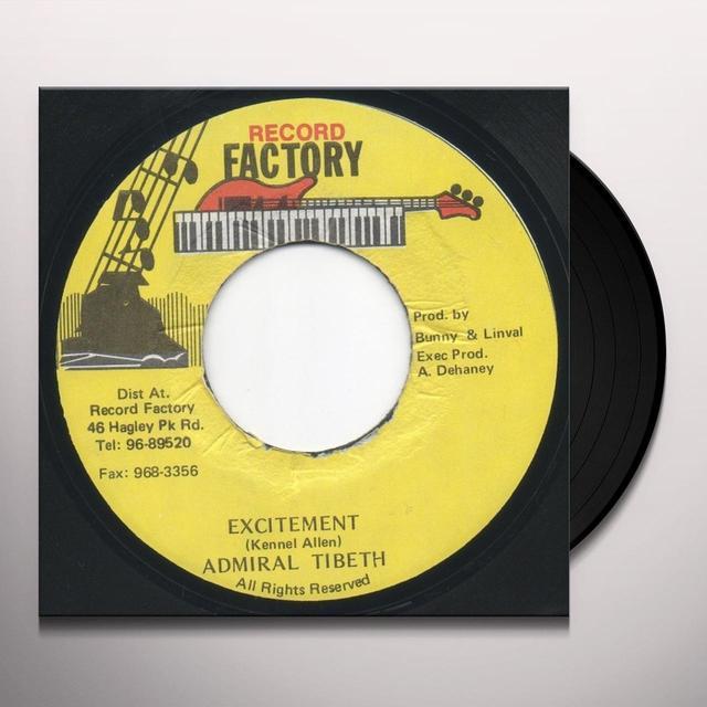 Admiral Tibbett EXCITEMENT (Vinyl)