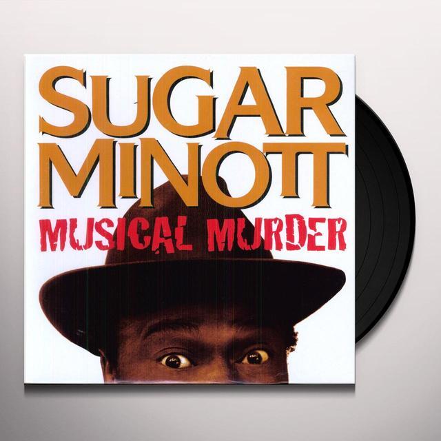 Sugar Minott MUSICAL MURDER Vinyl Record