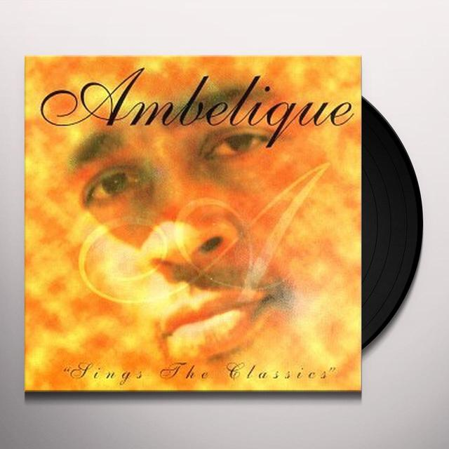 Ambelique SINGS THE CLASSICS Vinyl Record