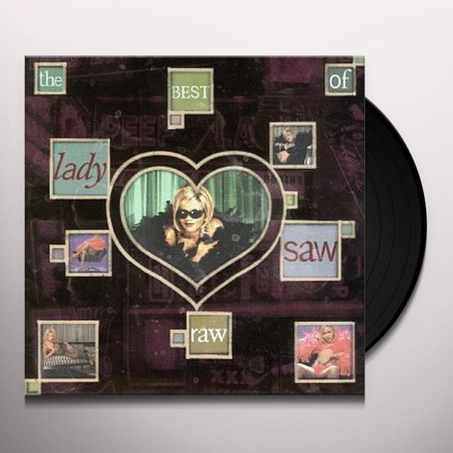 Lady Saw RAW: BEST OF Vinyl Record