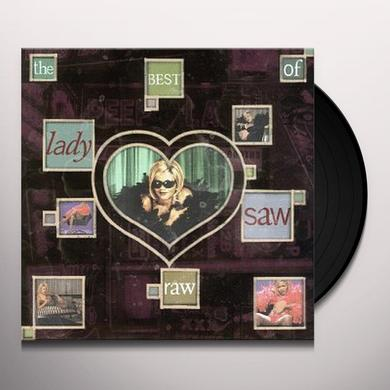 Lady Saw RAW: BEST OF Vinyl Record