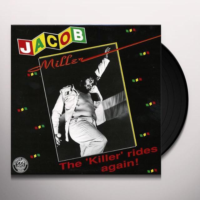 Jacob Miller KILLER RIDES AGAIN Vinyl Record