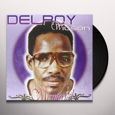 Delroy Wilson MEMORIAL Vinyl Record