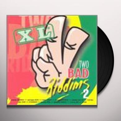TWO BAD RIDDIMS 2 / VARIOUS Vinyl Record