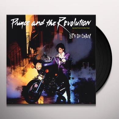 Prince LETS GO CRAZY Vinyl Record