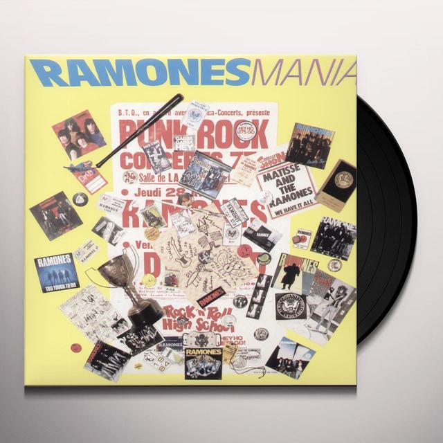 RAMONES MANIA Vinyl Record - Limited Edition