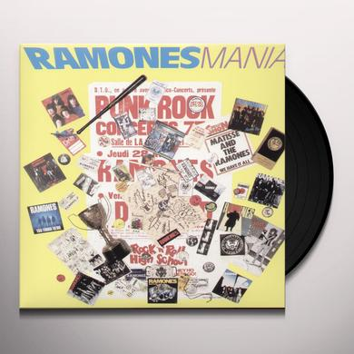 RAMONES MANIA Vinyl Record - Limited Edition
