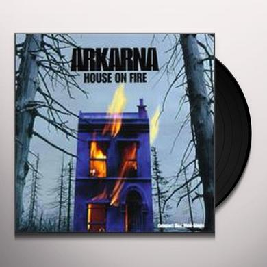 "Arkarna HOUSE ON FIRE (X9) (DOUBLE 12"") Vinyl Record"