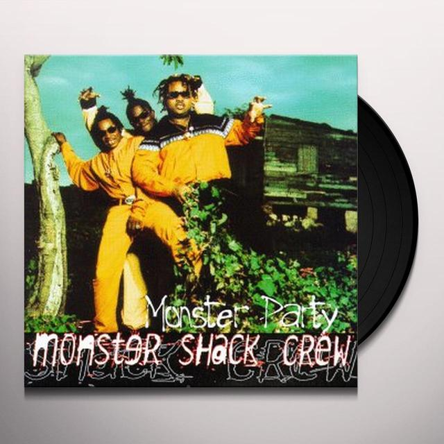 Monster Shack Crew MONSTER PARTY Vinyl Record