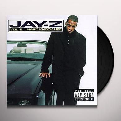 Jay Z VOLUME 2: HARD KNOCK LIFE Vinyl Record