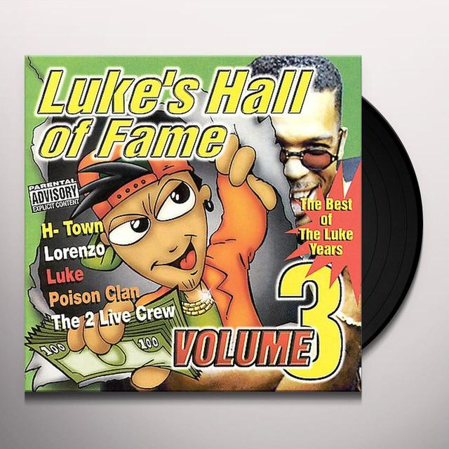 LUKE'S HALL OF FAME 3 / VARIOUS Vinyl Record