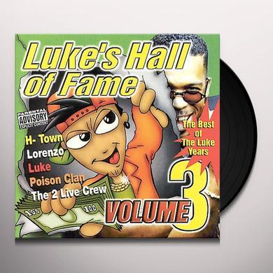 LUKE'S HALL OF FAME 3 / VARIOUS Vinyl Record