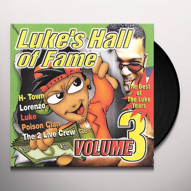 LUKE'S HALL OF FAME 3 / VARIOUS Vinyl Record - Clean