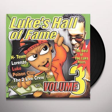 LUKE'S HALL OF FAME 3 / VARIOUS Vinyl Record - Clean