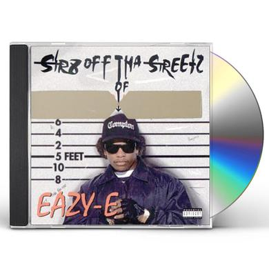 Eazy-E STR8 OFF THA STREETZ OF MUTHAPHUKKIN COMPTON CD