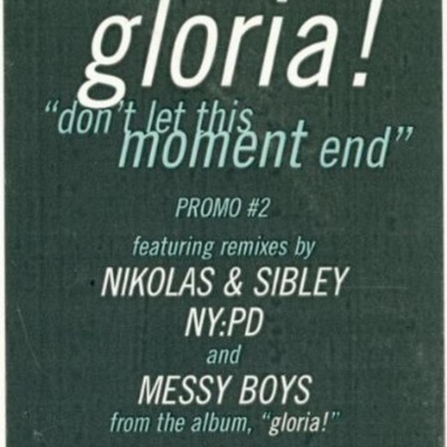 Gloria Estefan DON'T LET THIS MOMENT END (X2) / DISCO MEDLEY (Vinyl)