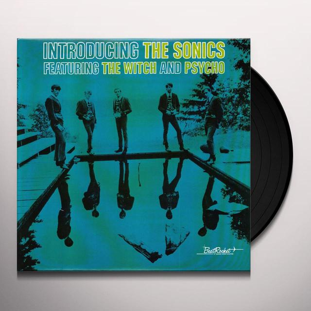 INTRODUCING THE SONICS Vinyl Record