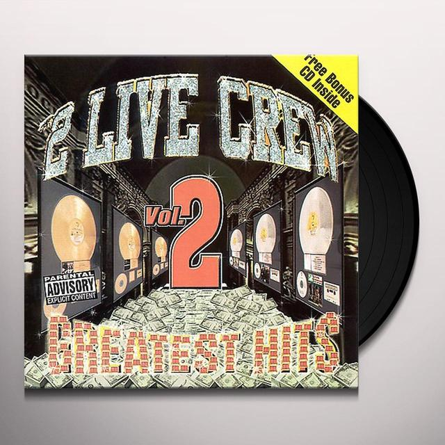 2 Live Crew GREATEST HITS 2 Vinyl Record