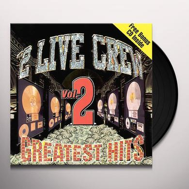 2 Live Crew GREATEST HITS 2 Vinyl Record - Clean
