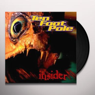 Ten Foot Pole INSIDER Vinyl Record