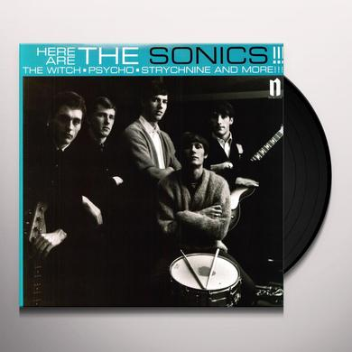 HERE ARE THE SONICS Vinyl Record