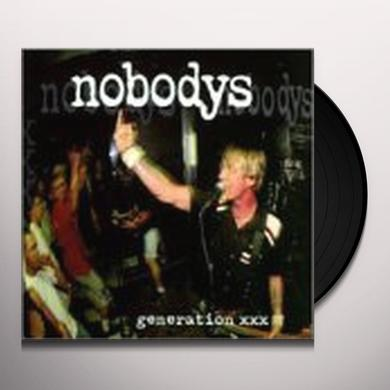 Nobodys GENERATION XXX Vinyl Record