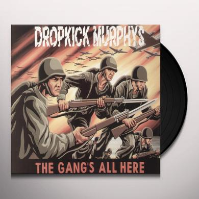 Dropkick Murphys GANG'S ALL HERE Vinyl Record - Yellow Vinyl
