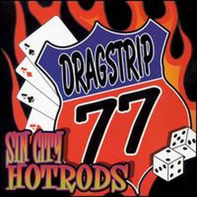 Dragstrip 77 SIN CITY HOTRODS Vinyl Record