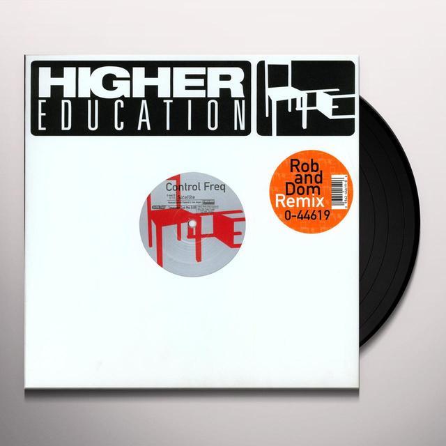 Control Freq SATELLITE Vinyl Record