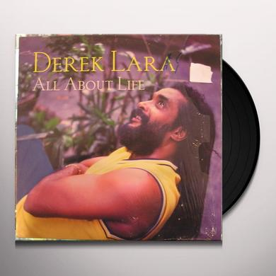 Derek Lara ALL ABOUT LIFE Vinyl Record