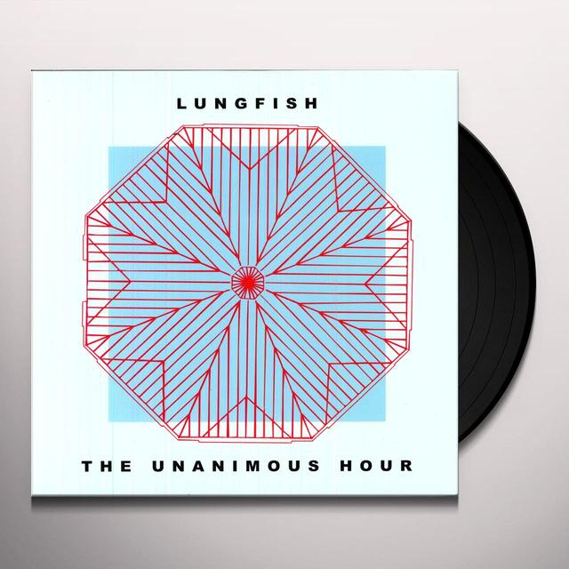 Lungfish UNANIMOUS HOUR Vinyl Record - Remastered, MP3 Download Included, Reissue