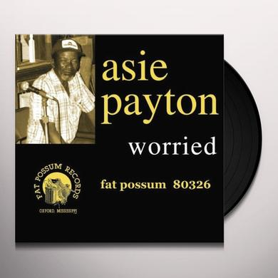 Asie Payton WORRIED Vinyl Record