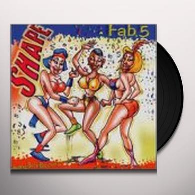 Fab 5 SHAPE Vinyl Record