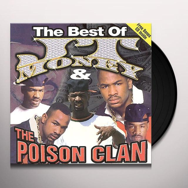 Jt Money / Poison Clan BEST OF JT MONEY & POISON CLAN Vinyl Record - Clean