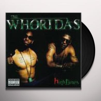 Whoridas HIGHTIMES Vinyl Record