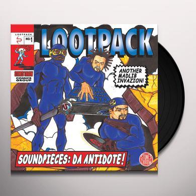 Lootpack SOUNDPIECIES: DA ANTIDOTE Vinyl Record