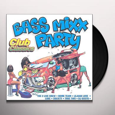 BASS MIXX PARTY CLUB CLASSICS / VARIOUS Vinyl Record - Clean