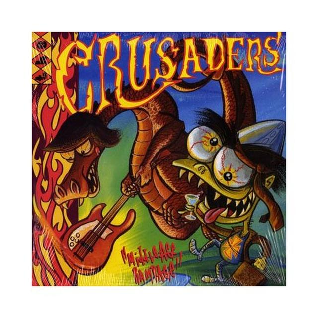 Crusaders MIDDLE AGE RAMPAGE Vinyl Record