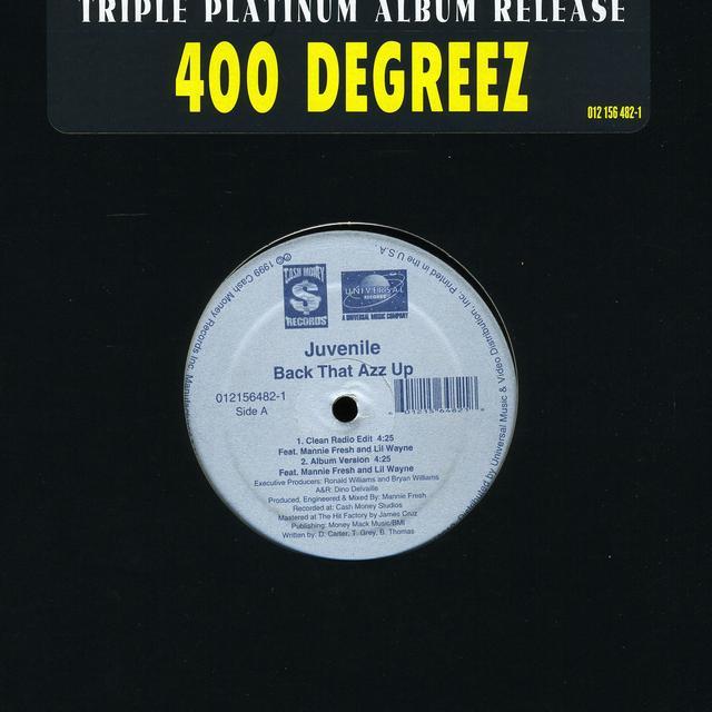Juvenile / Mannie Fresh / Lil Wayne BACK THAT AZZ UP (X5) (Vinyl)