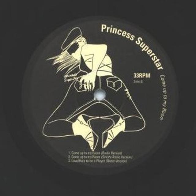 Princess Superstar COME UP TO MY ROOM Vinyl Record