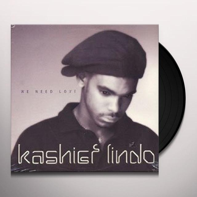 Kashief Lindo WE NEED LOVE Vinyl Record