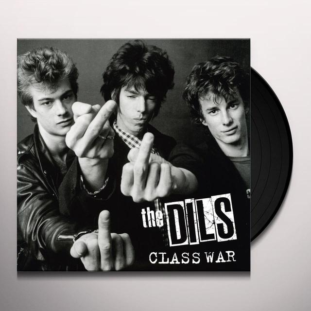 Dils CLASS WAR Vinyl Record