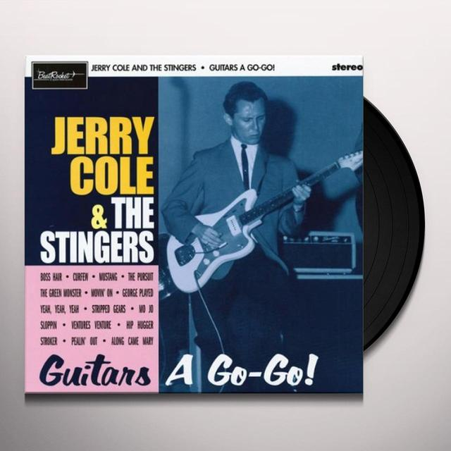Jerry / Stingers Cole GUITARS A GO-GO Vinyl Record