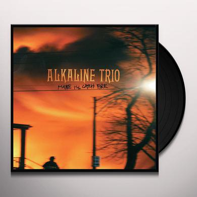 Alkaline Trio MAYBE I'LL CATCH FIRE Vinyl Record