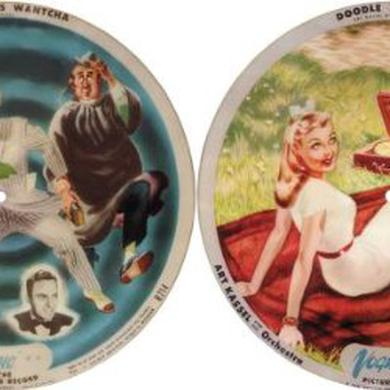 Art Kassel ALL I DO IS WANTCHA / DOODLE DOO DOO (PICTURE DISC Vinyl Record