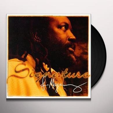 Freddie Mcgregor SIGNATURE Vinyl Record