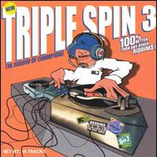 TRIPLE SPIN 3 / VARIOUS Vinyl Record