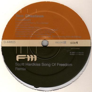 Tom Chasteen FREEDOM Vinyl Record