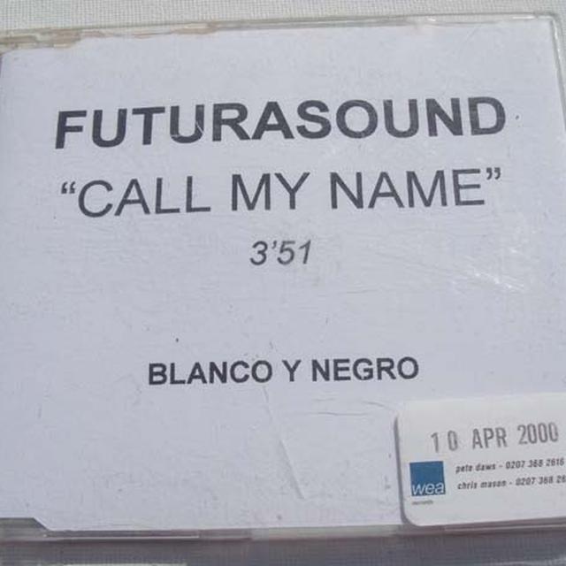 Futura Sound CALL MY NAME Vinyl Record